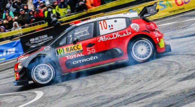 Себастьен Лёб одержал победу в Ралли Испании