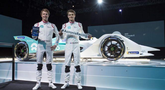 """Тёрви и Диллманн будут гонщиками """"НИО"""" в пятом сезоне """"Формулы-Е"""""""