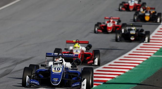 «Формула-3»: С технической точки зрения разницы между шасси Шварцмана и Шумахера нет