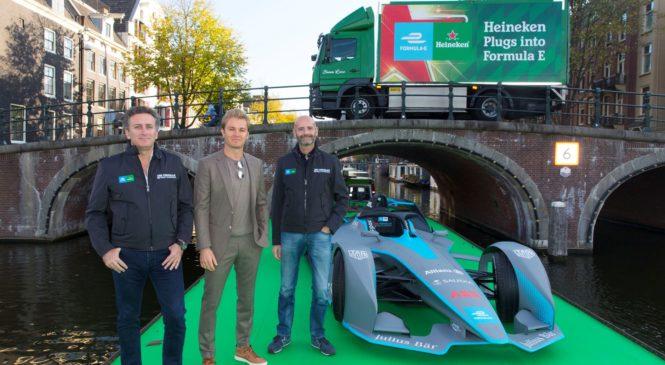 «Формула-Е» и «Хейнекен» подписали пятилетнее партнёрское соглашение