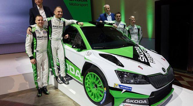 WRC 2: Ян Копецки и Калле Рованперя поедут в следующем сезоне за «Шкоду», Тидеманд покидает команду