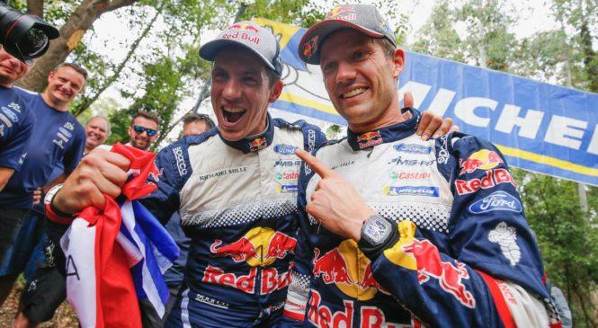 Себастьен Ожье оформил шестой титул WRC, «Тойота» выиграла зачет производителей