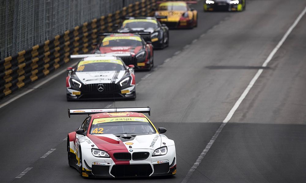 Квалификационная гонка ФИА ГТ в Макао