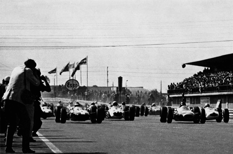 Старт БП Мексики 1964 года