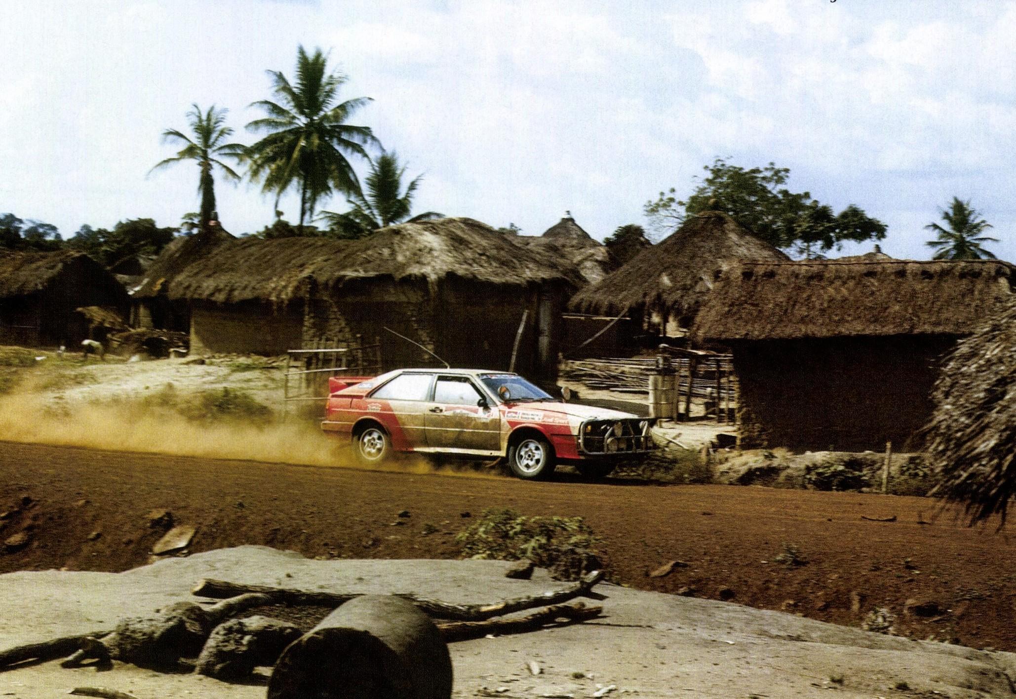 Мишель Мутон на дорогах Ралли Кот-Д'Ивуара