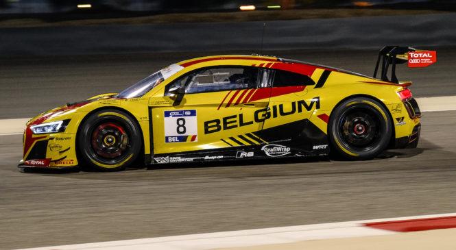 Команда Бельгии доминирует в Кубке наций ФИА ГТ в Бахрейне