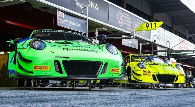 «Порше» выставит два заводских экипажа в Межконтинентальной серии ГТ и «Бланпен Эндуренс»