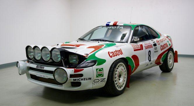 Автомобиль Чемпиона мира по ралли 1994 года Дидье Ориоля «Тойота Целика СТ 185» отправится на аукцион в Париж