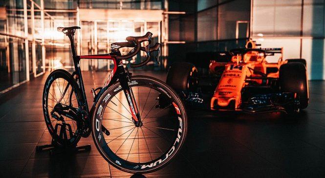 Подразделение «Макларена» начало сотрудничество с велосипедной командой Мирового Тура