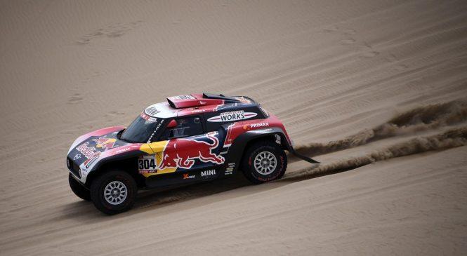 Петрансель выиграл третий этап «Дакара», Васильев застрял в песках