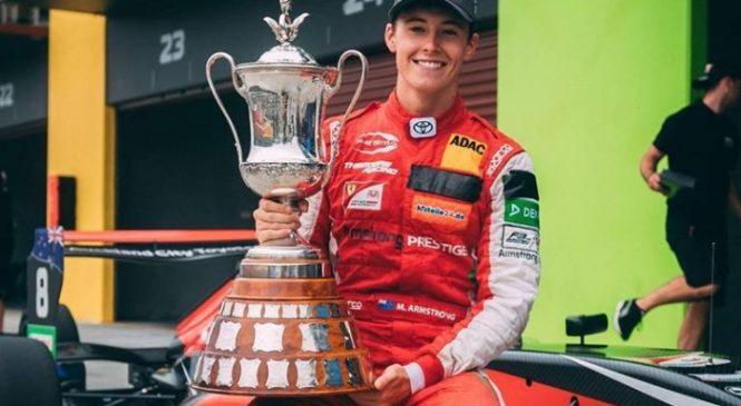 Армстронг выиграл «Мотор Кап», Петров стал вторым в 4-й гонке «Формулы-Тойота» в Хэмптон-Даунс