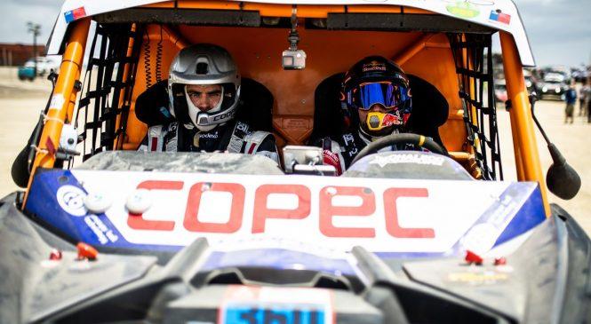 Чилиец Лопес выиграл второй этап «Дакара» в зачете мотовездеходов, Карякин третий