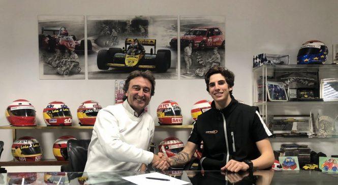 Фернандеc присоединился к «Кампос» в международной Ф3