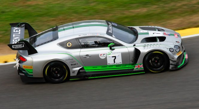 «Тим Паркер Рэйсинг Бентли» выступит в «Бланпен Эндуренс» и Британском ГТ