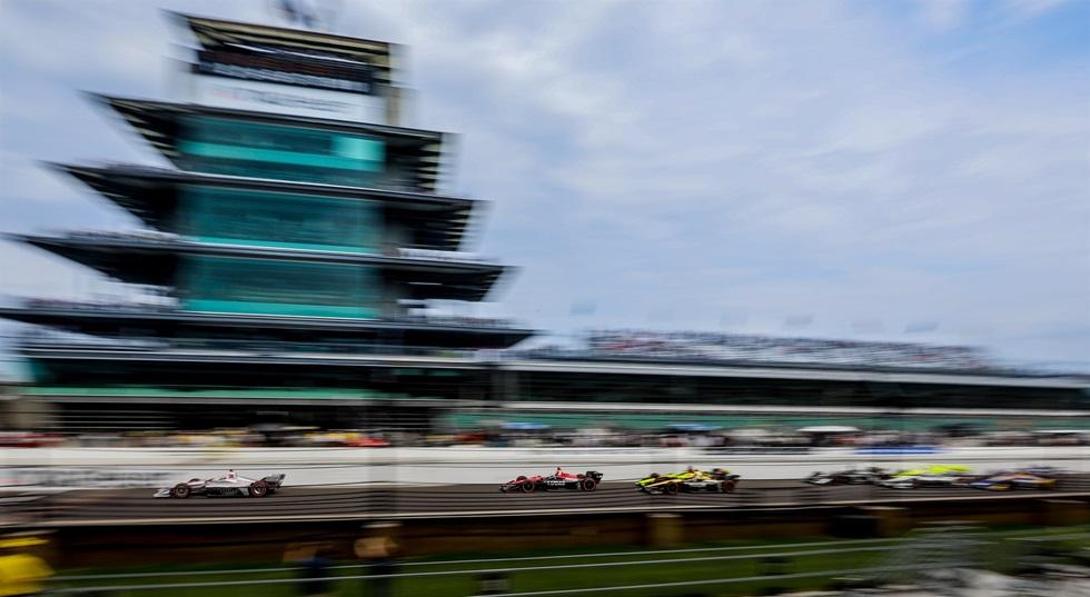 Старт Гран-при Индианаполиса