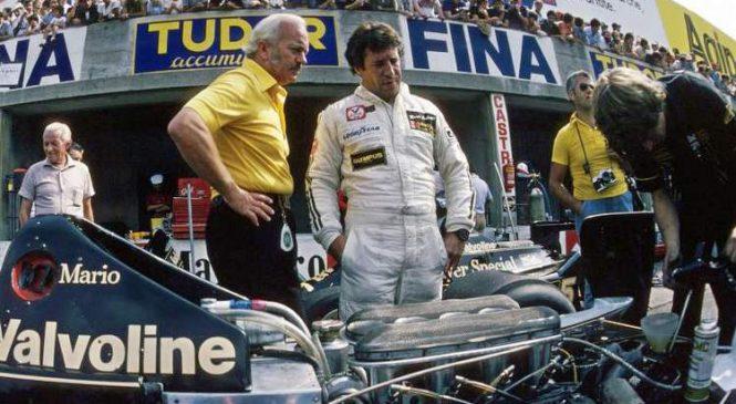Марио Андретти: У Чэпмена не было для меня хорошего автомобиля, но я не хотел уходить из Ф1