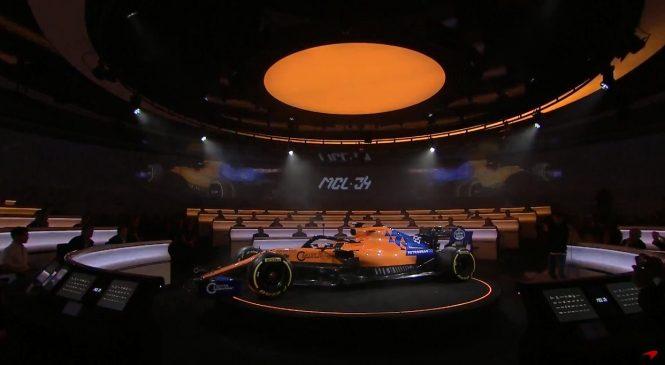 «Макларен» представил машину на сезон-2019