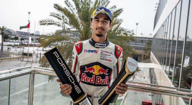 Ближневосточный Кубок Порше: Перейра притормозил Аль Зубаира в Абу-Даби