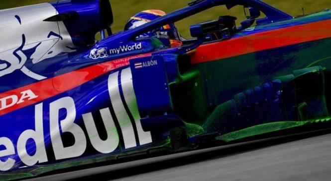 Албон стал быстрейшим в утренней сессии заключительного дня тестов в Барселоне