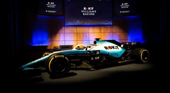«Уильямс» показал новую расцветку машины на сезон-2019