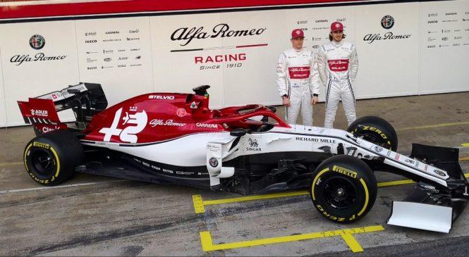 «Альфа Ромео» представила машину на сезон-2019