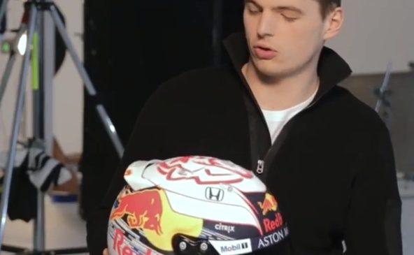 Верстаппен представил новый дизайн шлема