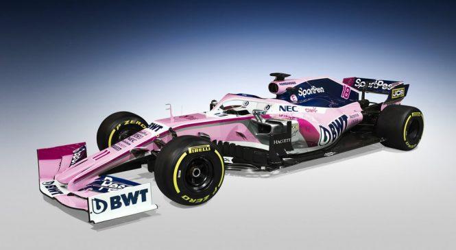 В «Рэйсинг Пойнт» представили титульного спонсора и окрас машины для 2019 года