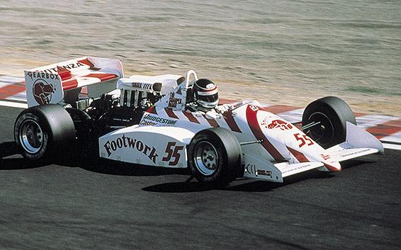 Агури Судзуки в японской Ф3000 в 1988 году