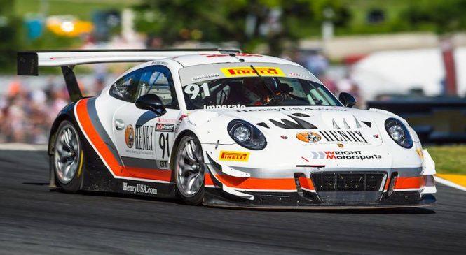 «Райт Моторспортс Порше» вернется в американскую серию «Бланпен ГТ»