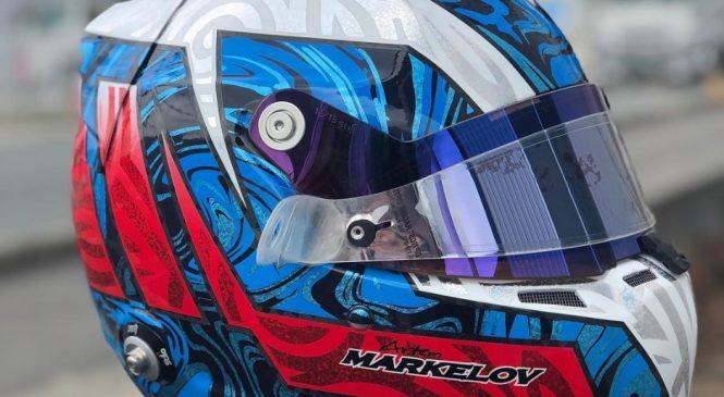 Маркелов представил новый дизайн шлема