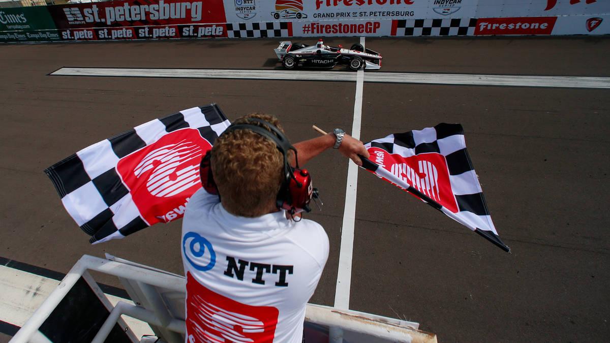 Победный финиш Ньюгардена в Гран-при Сент-Питерсберга