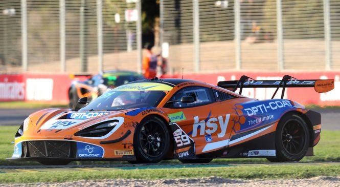 «Макларен 720С ГТ3» одержал свою дебютную победу в гонках