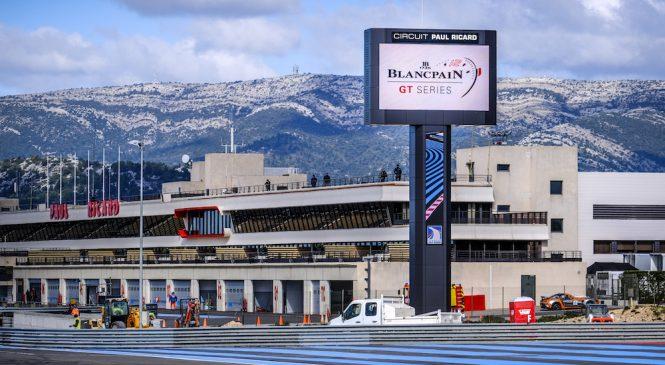 «Хонда» стала быстрейшей на тестах «Бланпен ГТ» в Ле-Кастелле.