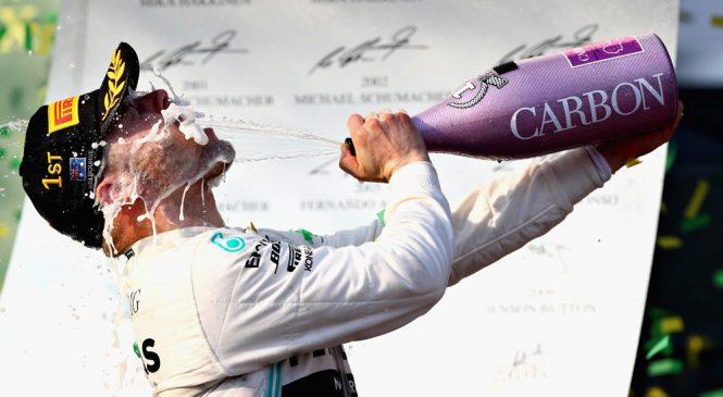 Боттас выиграл ГП Австралии, одержав первую победу за 1,5 года, Квят — в очках