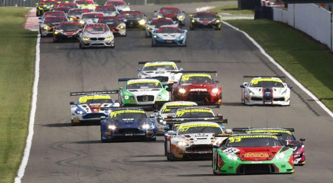 Рекордные 38 автомобилей выступят в сезоне британского ГТ