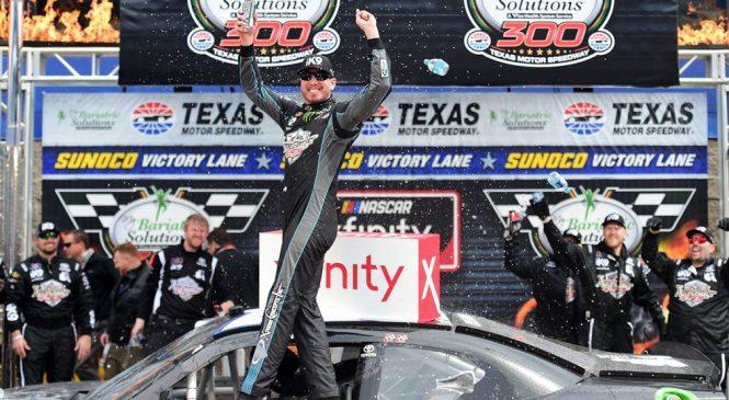 Кайл Буш победил в гонке «Иксфинити Сериес» в Техасе
