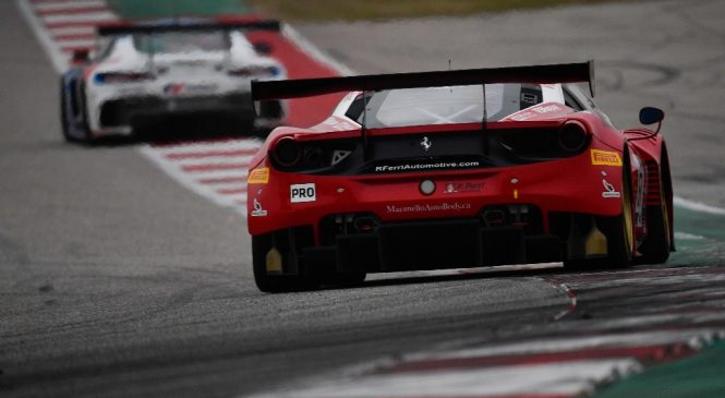 «Мерседес-АМГ» и «Феррари» стали первыми участниками мировой серии «Бланпен ГТ»