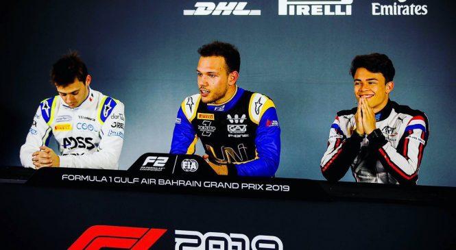 Лука Гьотто: Я очень счастлив. Пресс-конференция по итогам квалификации «Формулы-2»