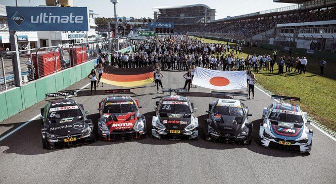 Автомобили «Супер ГТ» выступят в финале сезона ДТМ