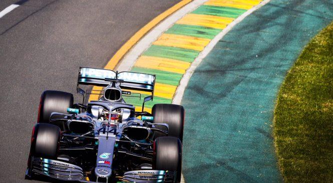 Субботняя тренировка Гран-при Австралии: Хэмилтон по-прежнему впереди, Квят в десятке