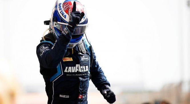 Николас Латифи выиграл первую гонку сезона «Формулы-2»