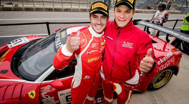 Действующие чемпионы Виландер и Молина выиграли вторую гонку американского ГТ в Остине