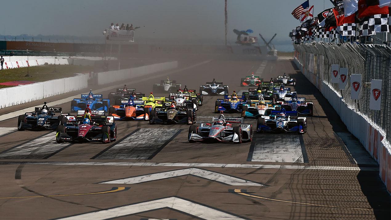 Старт Гран-при Сент-Питерсберга 2018 года