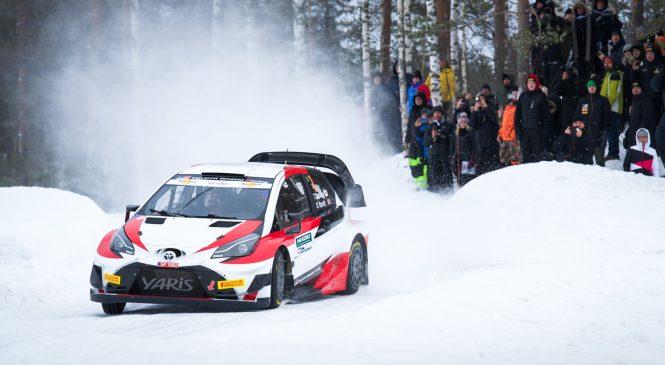 Такамото Кацута выиграл в дебютном ралли за «Тойоту» на третьем этапе чемпионата Финляндии