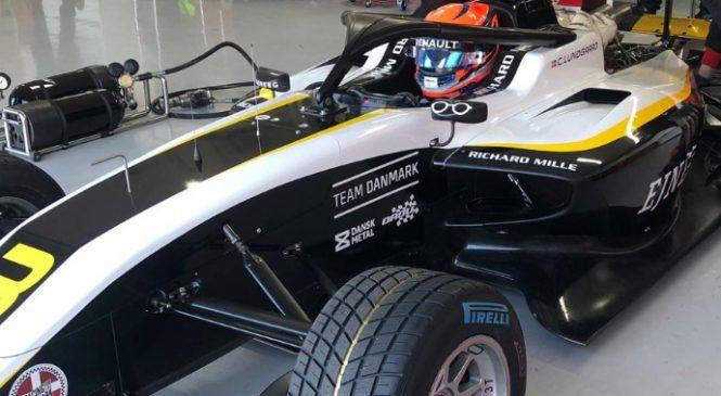 Лундгор вновь быстрейший с утра на тестах Ф3, Шварцман — четвёртый