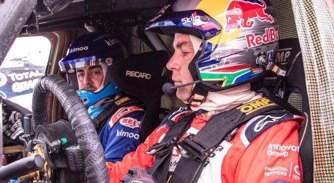 Алонсо отказался от идеи вернуться в Ф1 и проехать «Дакар» в сезоне-2020