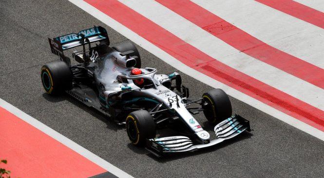 Расселл стал быстрейшим во второй день тестов в Бахрейне, Квят — пятый