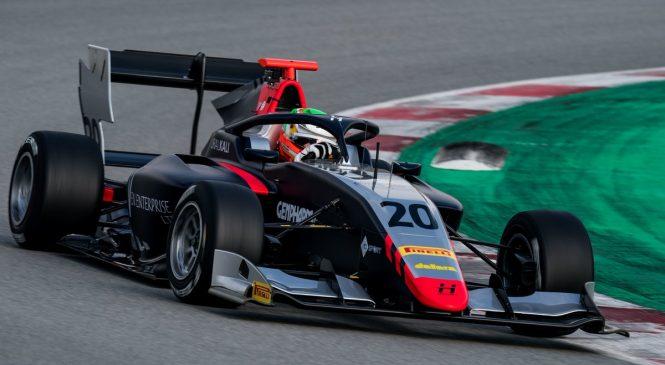 Пульчини вновь стал лучшим на тестах Ф3 в Барселоне, Шварцман — девятый.