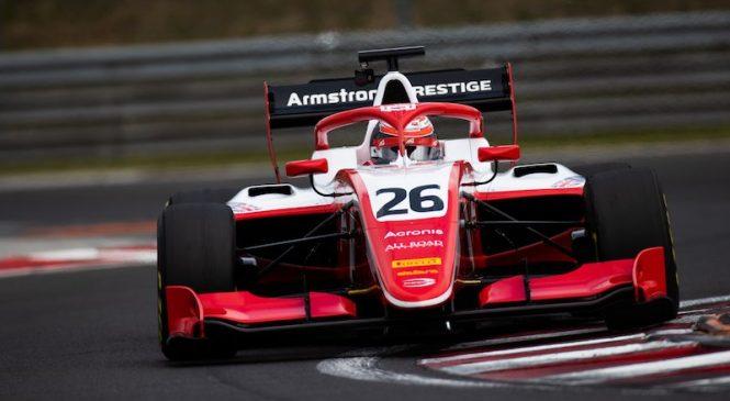 Армстронг стал лучшим по итогам дневной сессии тестов Ф3 на Хунгароринге, Петров 14-й