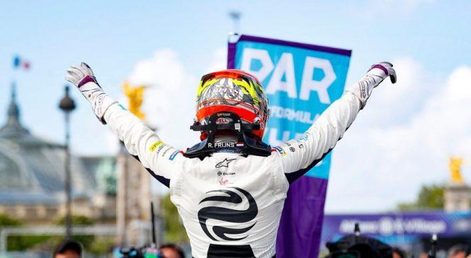 Фряйнс стал восьмым победителем в восьмой гонке сезона «Формулы-Е»